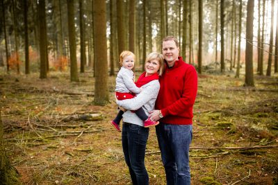 Familien Fotoshooting Winter