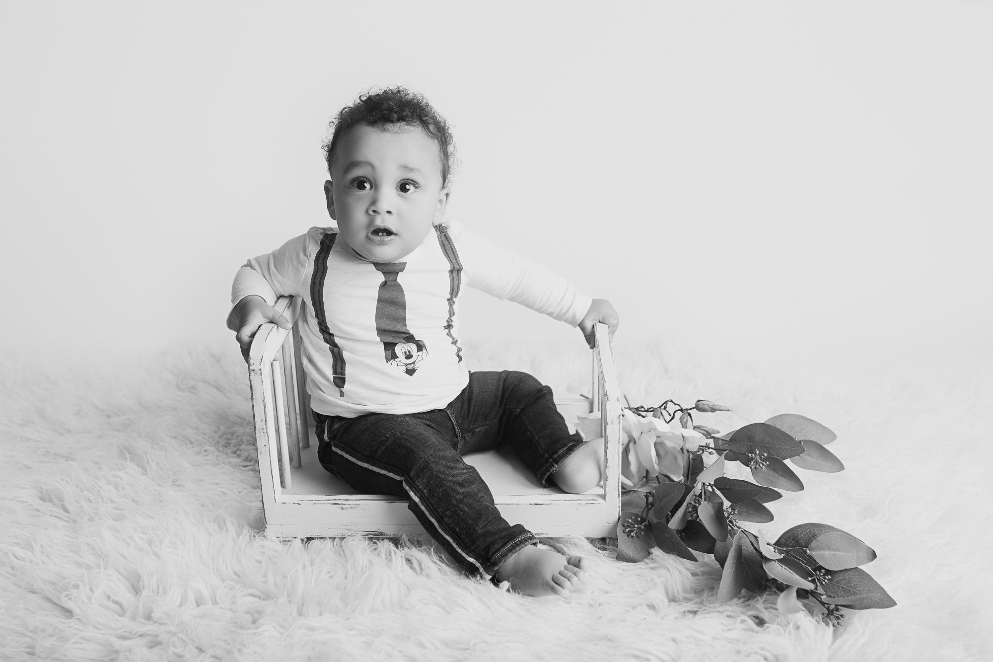 Babyfotos im Sitzalter